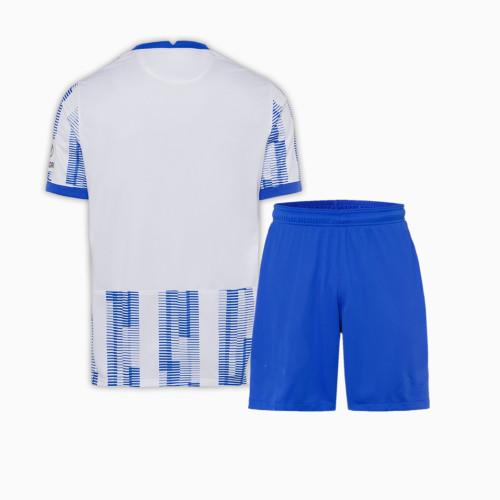Kids Hertha Berlin 21/22 Home Jersey and Short Kit