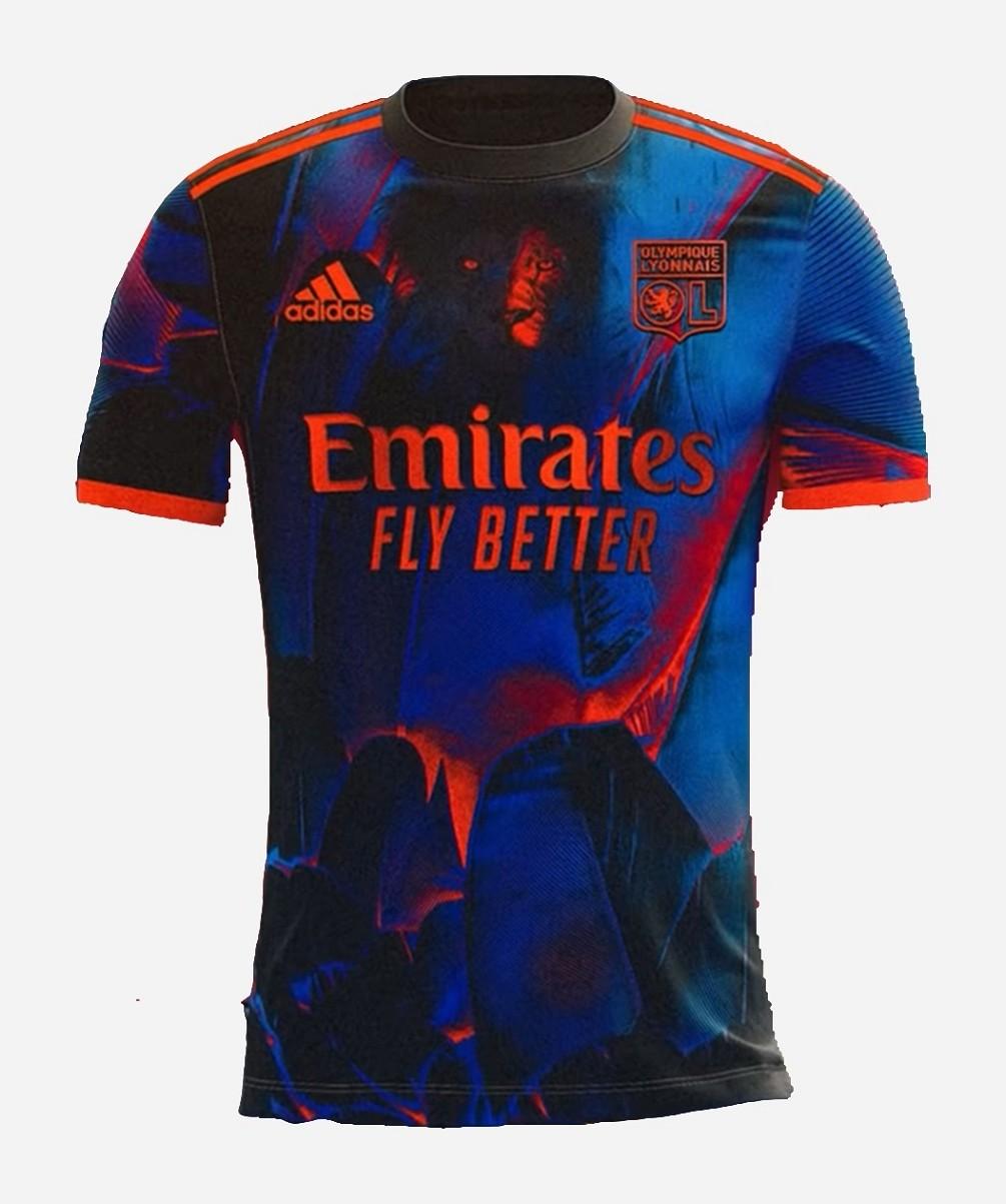Olympique Lyonnais 21/22 Fourth Jersey and Short Kit