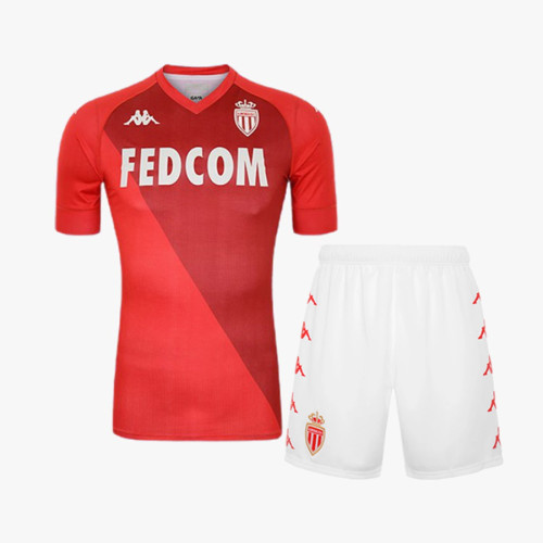 Kids AS Monaco 21/22 Special Edition Jersey and Short Kit