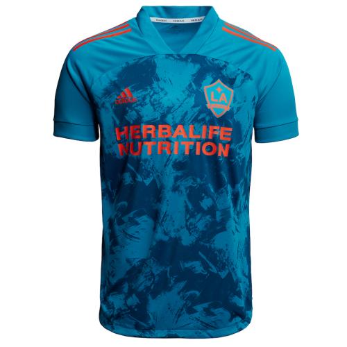Los Angeles Galaxy 2021 Primeblue Jersey and Short Kit