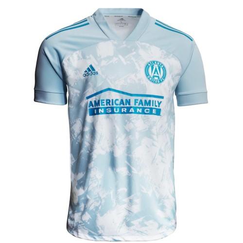 Atlanta United 2021 Primeblue Jersey and Short Kit - Light Blue