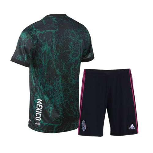 Kids Mexico 2021 Training Jersey and Short Kit