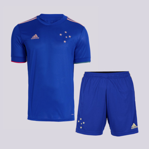 Cruzeiro 2021 Centenary Home Jersey and Short Kit