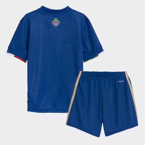 Kids Cruzeiro 2021 Centenary Home Jersey and Short Kit
