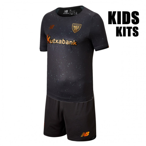 Kids Athletic Bilbao 21/22 Goalkeeper Jersey and Short Kit