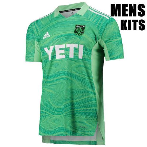 Austin FC 21/22 Goalkeeper Jersey and Short Kit