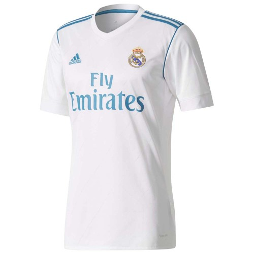 Real Madrid 2017/2018 Home Retro Jersey