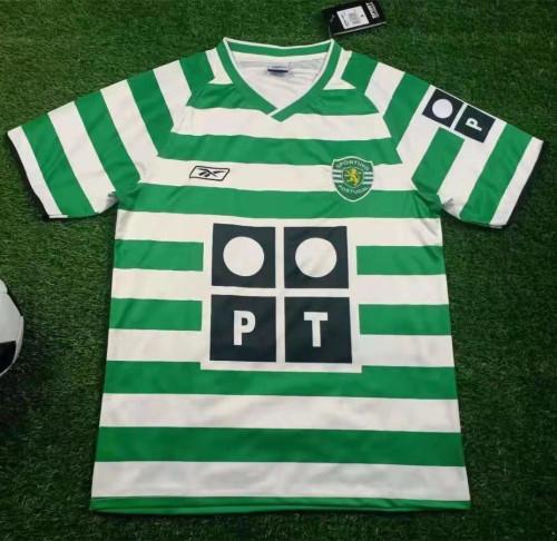 Sporting CP 2003-04 Home Retro Jersey
