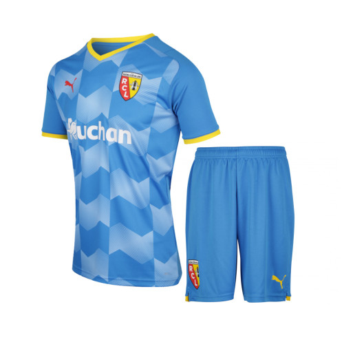 Kids RC Lens 21/22 Third Jersey and Short Kit