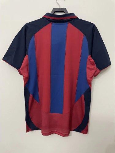 Barcelona 2003/2004 Home Retro Jersey
