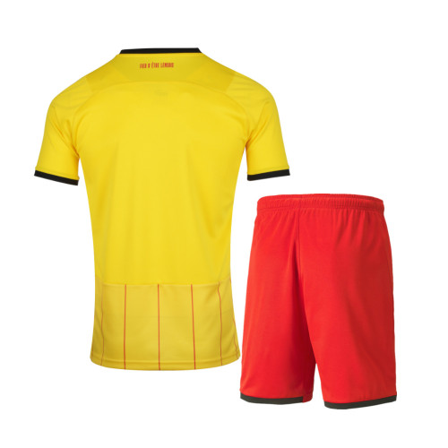 Kids RC Lens 21/22 Home Jersey and Short Kit