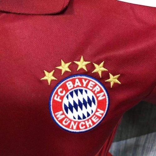Bayern Munich 21/22 Pre-Match Polo Shirt - Home