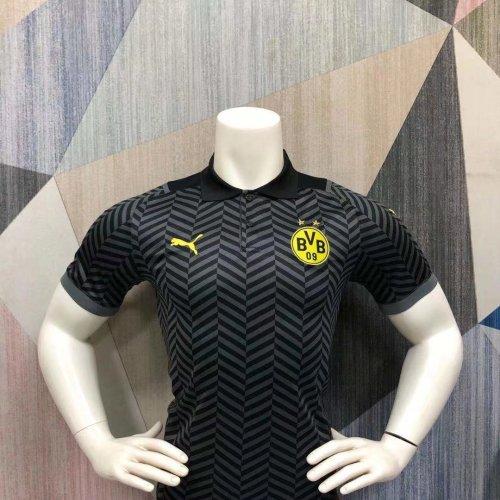 Borussia Dortmund 21/22 Pre-Match Polo Shirt - Away