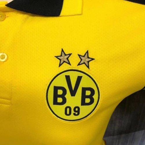 Borussia Dortmund 21/22 Pre-Match Polo Shirt - Home