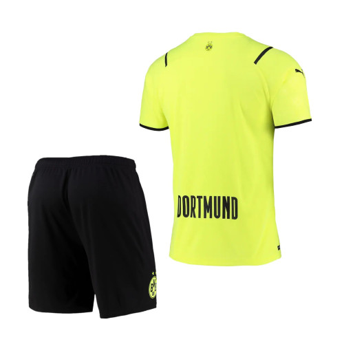 Borussia Dortmund 21/22 Cup Jersey and Short Kit