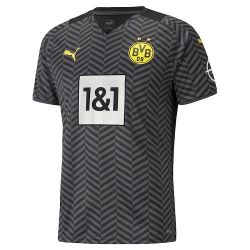 Player Version Borussia Dortmund 21/22 Away Authentic Jersey
