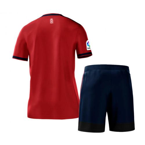 Kids CA Osasuna 21/22 Home Jersey and Short Kit