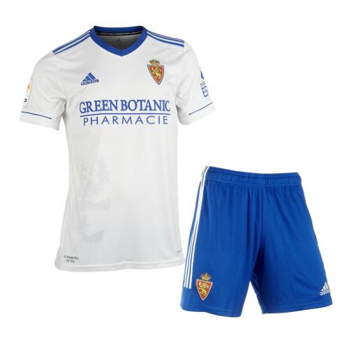 Real Zaragoza 21/22 Home Jersey and Short Kit