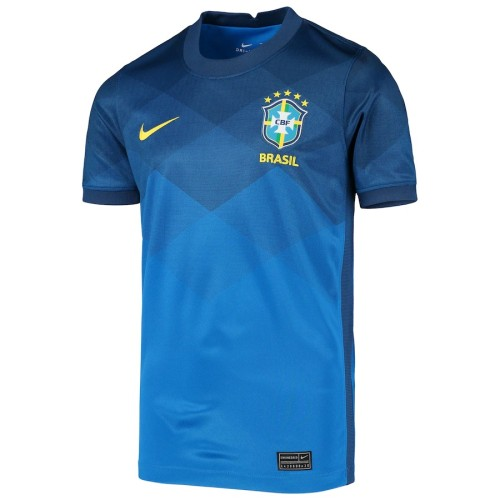 Thai Version Brazil 2021 Away Soccer Jersey
