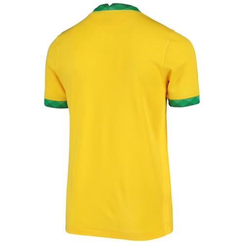 Thai Version Brazil 2021 Home Soccer Jersey