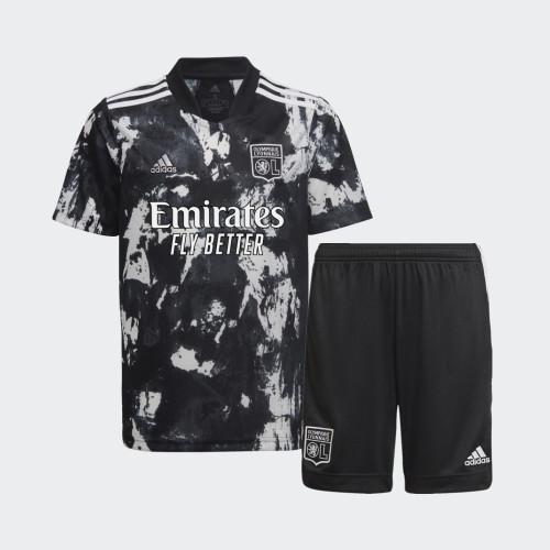 Kids Olympique Lyonnais 21/22 Third Jersey and Short Kit