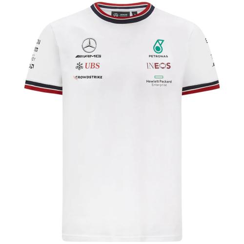 Mercedes AMG Petronas F1 Team Shirt 2021 - White