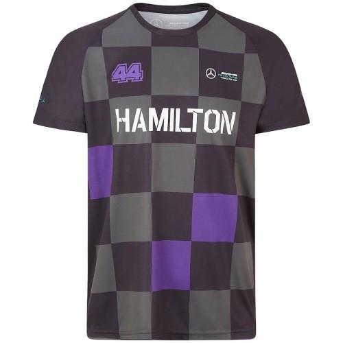 Mercedes AMG Petronas F1 2021 Lewis Hamilton 100 Grand Prix Wins Team Shirt