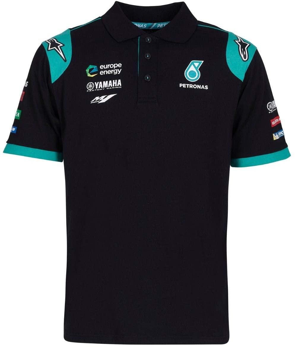 Petronas Yamaha Sepang Racing Team Polo - Black