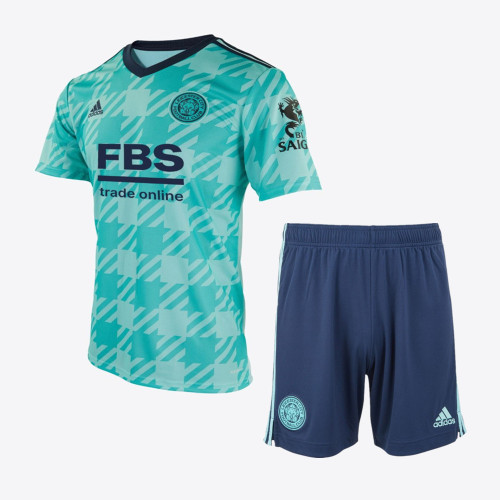 Leicester City 21/22 Away Jersey and Short Kit