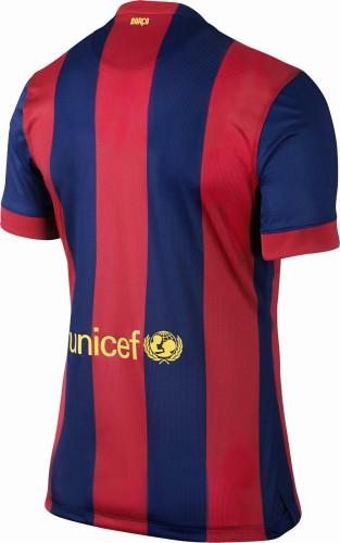 Barcelona 2014/2015 Home Retro Jersey