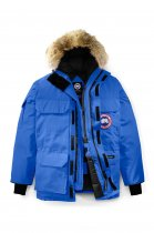 08 Expedition Parka High Quality Down Jacket Blue