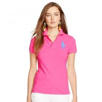 Women's Classical High Quality Polo Shirt 88A6 010