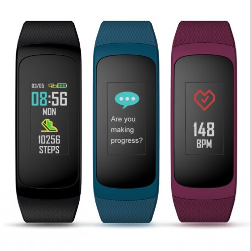 Plug C Continuous Heart Rate Color Display Battery Long Life and Fast Charging IP67 Waterproof