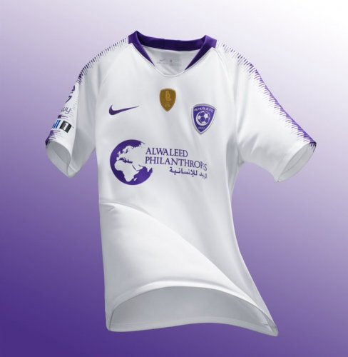 Thai Version Al-Hilal 18/19 Away Soccer Jersey