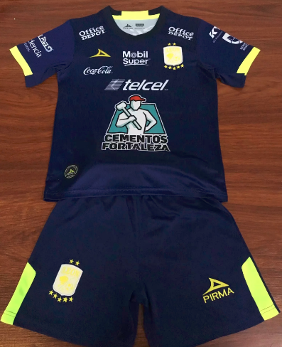 Club Leon 19/20 Kids Third Soccer Jersey and Short Kit