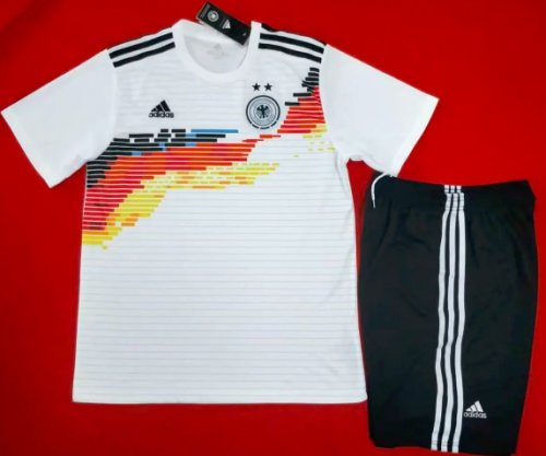 Germany 2019 Home Soccer Jersey and Short Kit