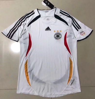 Thai Version Retro Germany 2006 Soccer Jersey