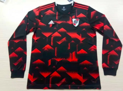 Thai Version River Plate 19/20 LS Away Soccer Jersey