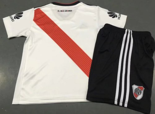 River Plate 19/20 Kids Home Soccer Jersey and Short Kit