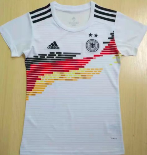 Thai Version Germany 2019 Women's Home Soccer Jersey