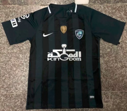 Thai Version Al-Hilal 19/20 Soccer Jersey - Black