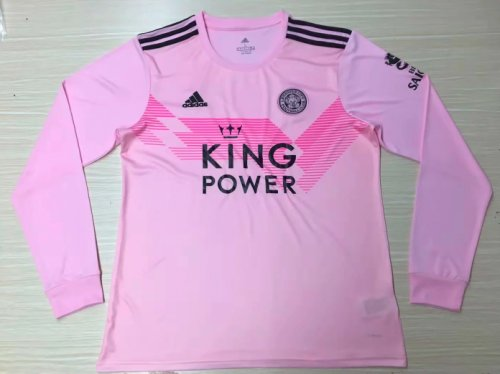 Thai Version Leicester City 19/20 LS Away Soccer Jersey