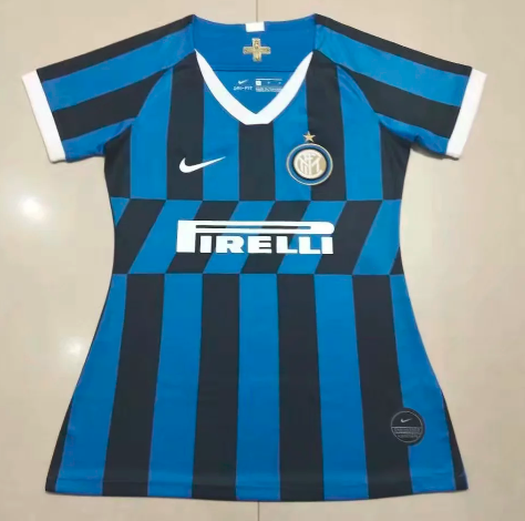 Thai Version Inter Milan 19/20 Women's Home Soccer Jersey