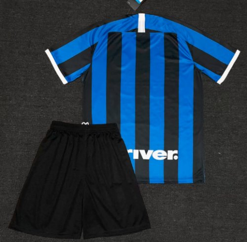 Inter Milan 19/20 Home Soccer Jersey and Short Kit