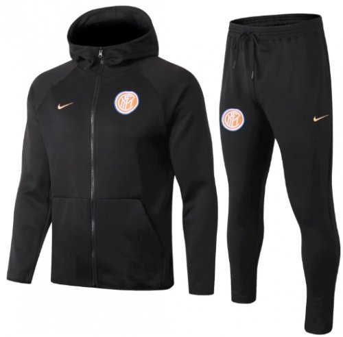 Inter Milan 18/19 Hoodie and Pants - Black