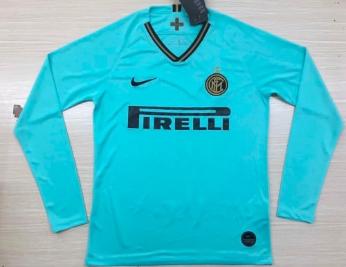 Thai Version Inter Milan LS Away Soccer Jersey