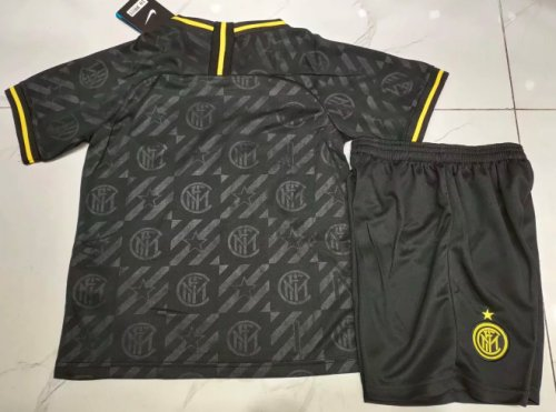 Inter Milan 19/20 Kids Third Soccer Jersey and Short Kit