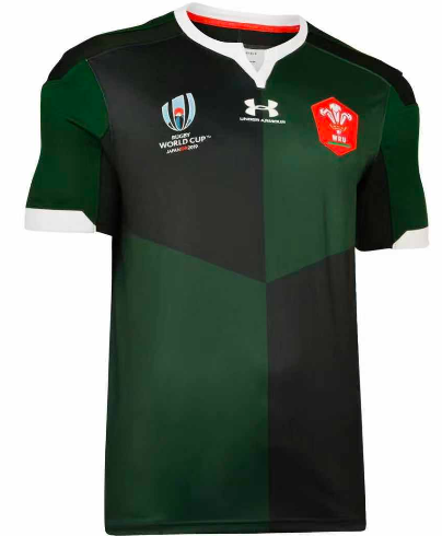Welsh 2019 World Cup Away Rugby Jersey