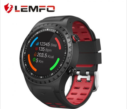 Lemfo M1 card sports smart watch GPS positioning outdoor weather altitude compass Sports Watch