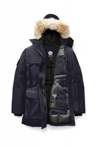 09 Expedition Parka High Quality Down Jacket Navy Blue